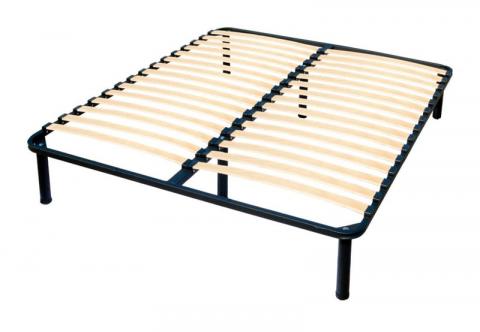 Каркас кровати XL с ламелями (с опорами)